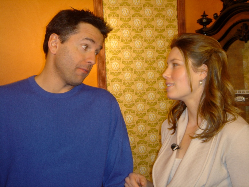 Me telling Jessica Biel that someday she'll meet the man of her dreams and his initials will be JT..